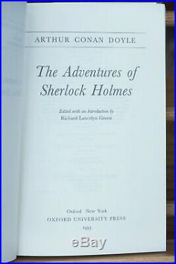 The Oxford Sherlock Holmes (Complete box set of 9 volumes)