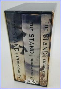 The Stand 3 Book Box Set Stephen King Limited Edition Signed by Don Maitz