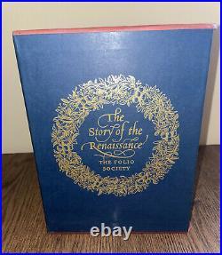 The Story of the Renaissance 5 Volumes in Slipcase, Folio Society Box set. Ex