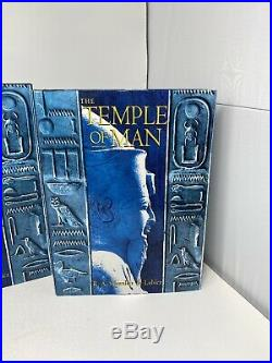 The Temple of Man by R. A. Schwaller de Lubicz 2 Volume Box Set Egypt