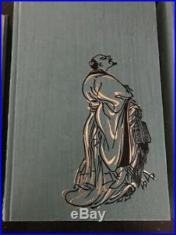 Three Kingdoms Luo Guanzhong exquisite Folio Society 4 Volume Box Set