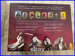 Throne of Glass Series Hardcover Box Set with Poster and Faecrate TOG Dust Jackets