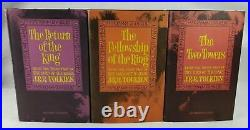 Tolkien 1965 Box Set Houghton Mifflin The Lord Of The Rings 2nd edition slipcase
