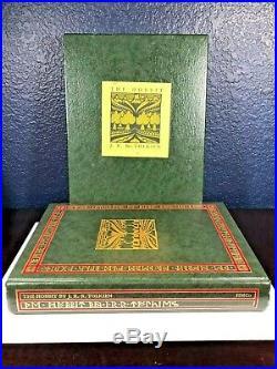 Tolkien LORD OF THE RINGS BoxSet SILMARILLION 1st/1st HOBBIT Slipcase GONDOLIN