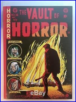 VAULT OF HORROR Complete EC Comics Hardcover Box Set Russ Cochran 1982 Vol 1-5