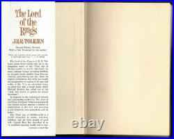 Vintage Boxed Set 1965 THE LORD OF THE RINGS J. R. R. TOLKIEN 2nd Edition HCDJ VGC