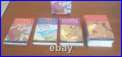Vintage Harry Potter 4 Vol Hardcover Box Set UK Edition Bloomsbury in Slipcase