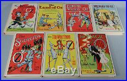 Vintage The Treasury of Oz Box Set (7 Books) L. Frank Baum Complete