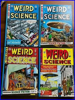 WEIRD SCIENCE 4 VOL. BOX SET COMPLETE EC LIBRARY 2nd printing, Gemstone, Fine
