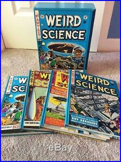 Weird Science Complete EC Library 4 Vol. Box Set withSlipcase Russ Cochran 1980