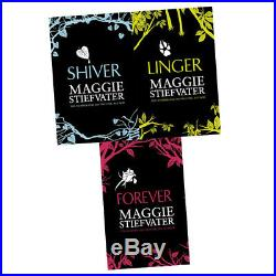 Wolves of Mercy Falls Series 3 Books Collection Box Set By Maggie Stiefvater NEW