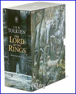 XLG BOXED SET JRR Tolkien LORD OF THE RINGS Alan Lee Illus 3 VOLUMES HC